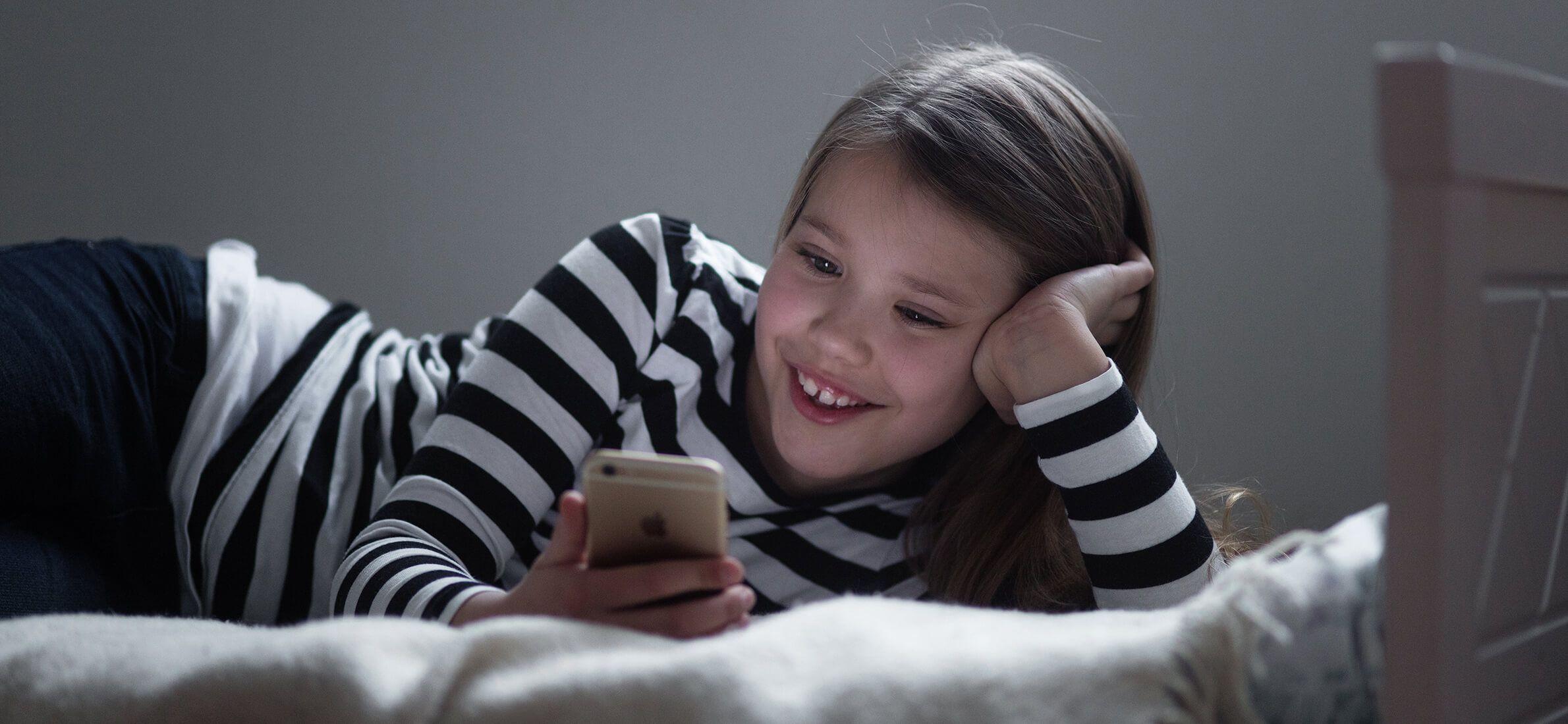 Spill p? mobil for barn