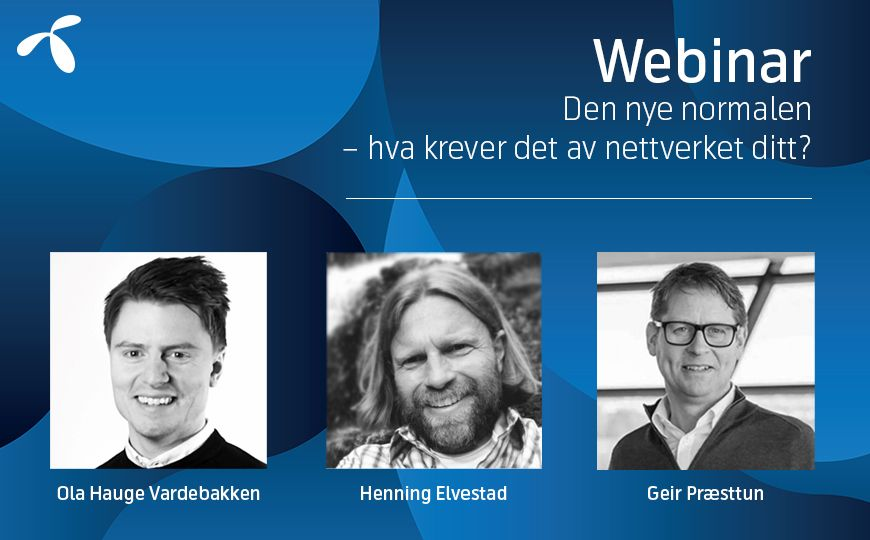 Telenor Bedrift - webinar