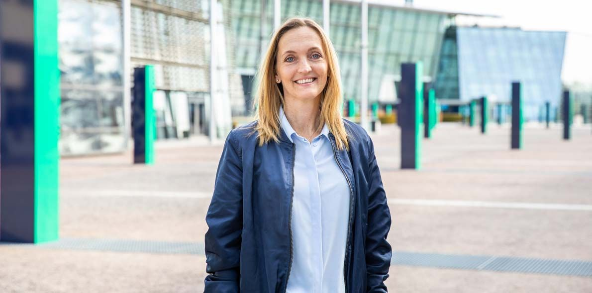Birgitte Salvesen, Marketing Manager Mobil, Telenor Bedrift anbefaler mobilabonnementet Flyt